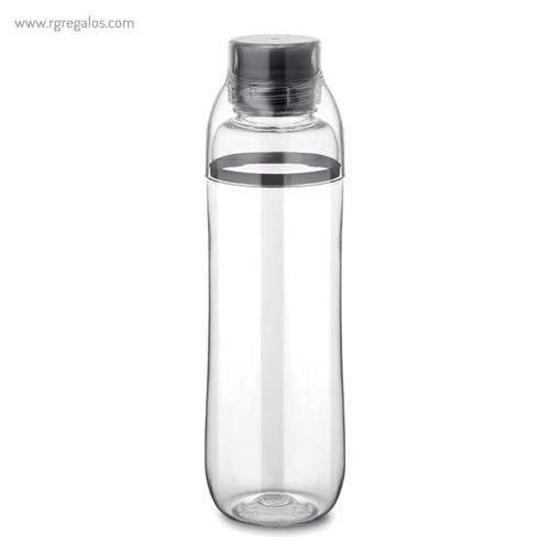 Botella de tritán anti-fugas negra - RG regalos publicitarios