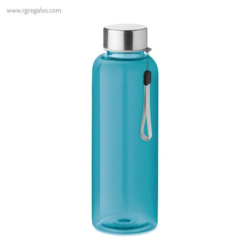 Botella de tritán colores 500 ml turquesa - RG regalos publicitarios