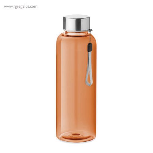 Botella de tritán colores 500 ml naranja - RG regalos publicitarios