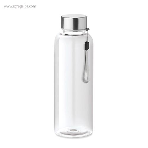 Botella de tritán colores 500 ml transparente - RG regalos publicitarios