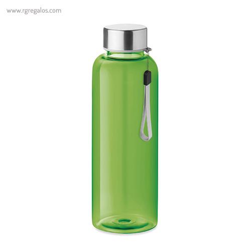 Botella de tritán colores 500 ml verde - RG regalos publicitarios
