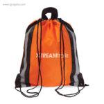 Mochila saco laterales reflectantes ocn logo - RG regalos publicitarios