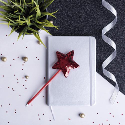 Bolígrafo con estrella imagen - RG regalos publicitarios