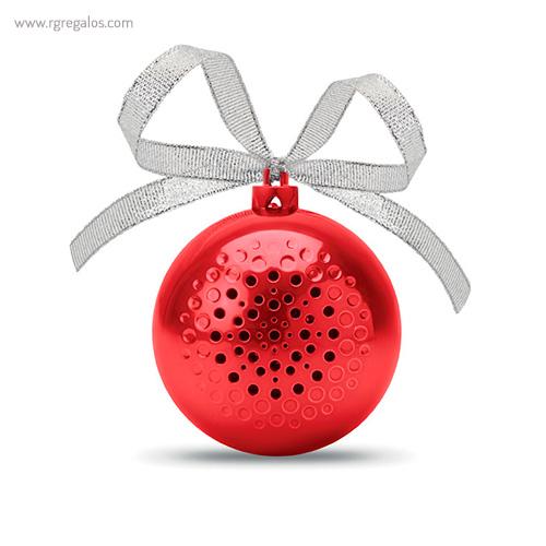 Bola de navidad altavoz frontal - RG regalos publicitarios