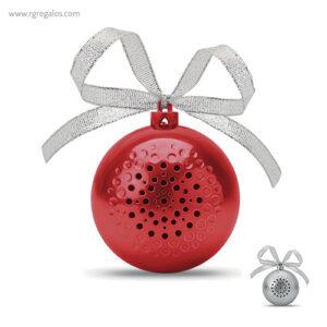 Bola de navidad altavoz - RG regalos publicitarios