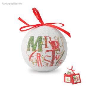 Bola de navidad con caja - RG regalos publicitarios