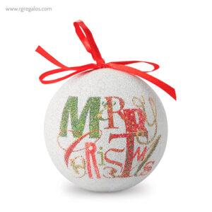 Bola de navidad con caja merry christmas - RG regalos publicitarios