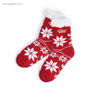 Calcetín navidad antideslizante - RG regalos publicitarios
