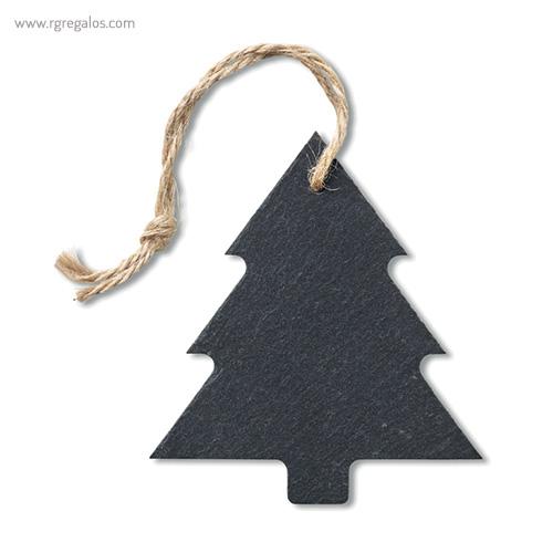 Colgante navidad de pizarra estrella presentación - RG regalos publicitarios