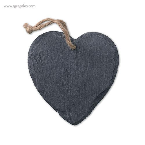 Colgante navidad de pizarra corazón - RG regalos publicitarios
