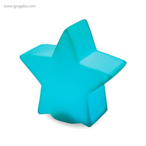 Estrella con luz colores - RG regalos