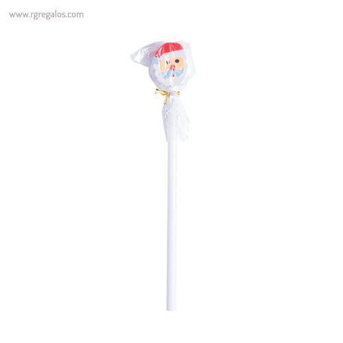 Lápiz con goma navidad Papá Noel - RG regalos publicitarios