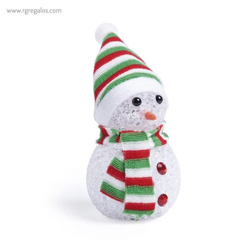 Muñeco de nieve con luz modelo 2 - RG regalos publicitarios