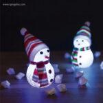 Muñeco de nieve con luz multicolor - RG regalos publicitarios