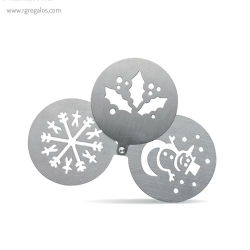 Plantillas decorativas para café 3 diseños - RG regalos publicitarios