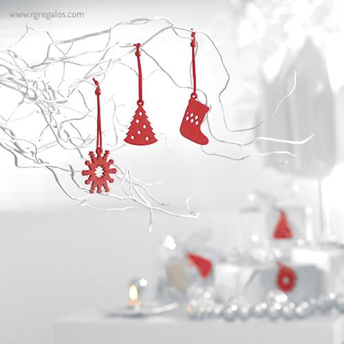Set 12 adornos navideños detalle - RG regalos publicitarios