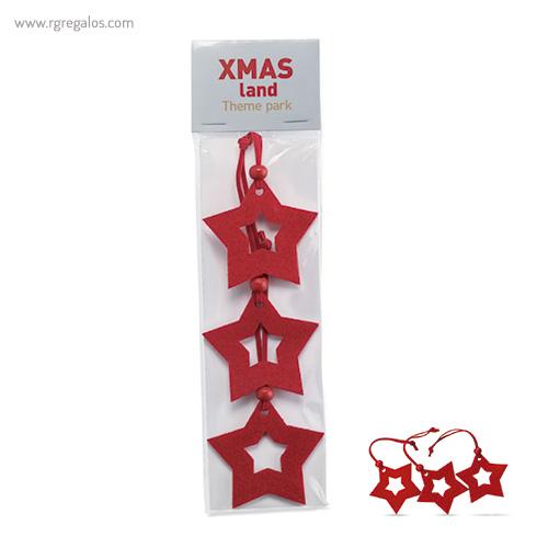 Set 3 adornos navideños - RG regalos publicitarios