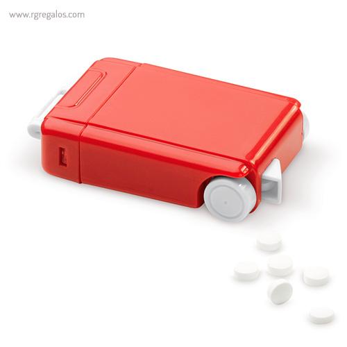 Dispensador caramelos trolley rojo - RG regalos publicitarios