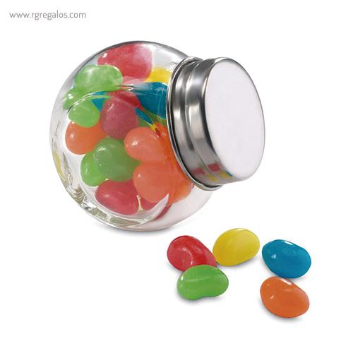 Bote de cristal con caramelos - RG regalos publicitarios