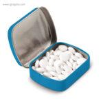 Caja cuadrada de caramelos azul - RG regalos publicitarios