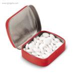 Caja cuadrada de caramelos roja - RG regalos publicitarios
