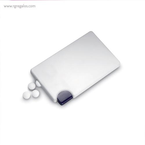 Dispensador de caramelos menta perfil - RG regalos publicitarios
