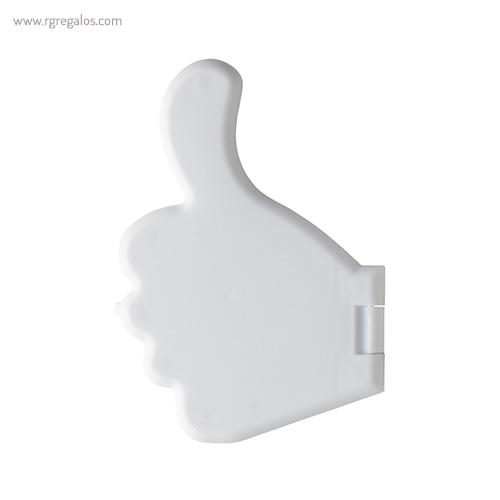 Dispensador de caramelos pulgar blanco - RG regalos publicitarios