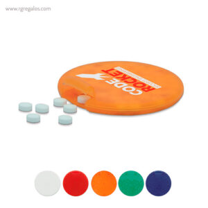 Dispensador de caramelos redondo - RG regalos publicitarios