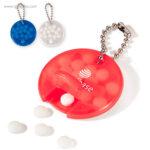 Llavero con caramelos de menta colores - RG regalos publicitarios