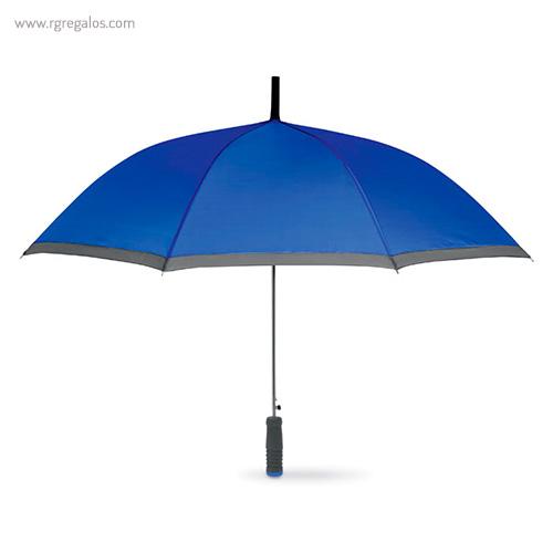 Paraguas automático con funda 23 azul - RG regalos publicitarios