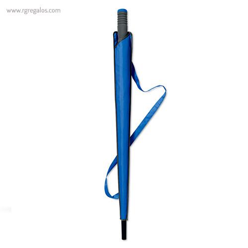 Paraguas automático con funda 23 azul funda - RG regalos publicitarios