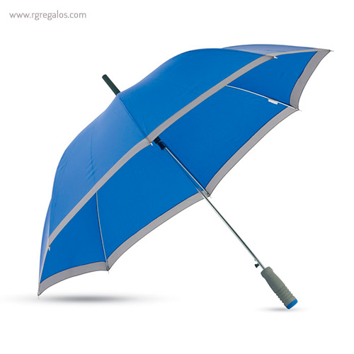 Paraguas automático con funda 23 azul perfil - RG regalos publicitarios