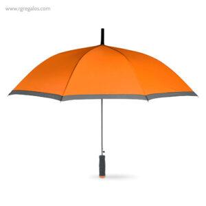 Paraguas automático con funda 23 naranja - RG regalos publicitarios