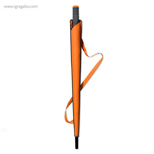 Paraguas automático con funda 23 naranja funda - RG regalos publicitarios