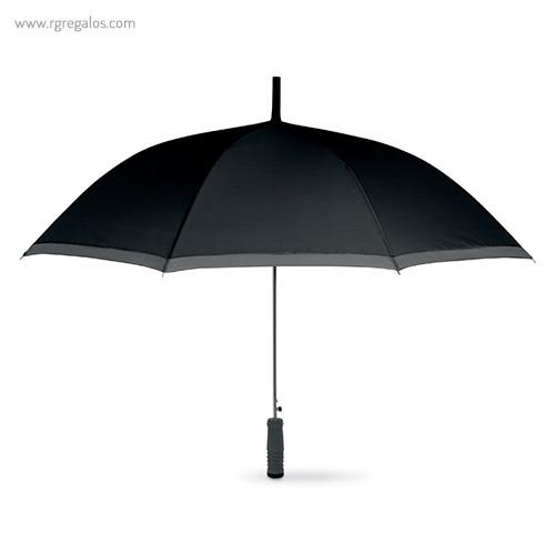 Paraguas automático con funda 23 negro - RG regalos publicitarios