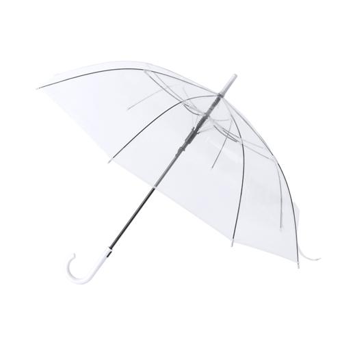 Paraguas automático transparente azul - RG regalos publicitarios