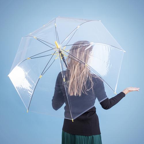 Paraguas automático transparente detalle - RG regalos publicitarios