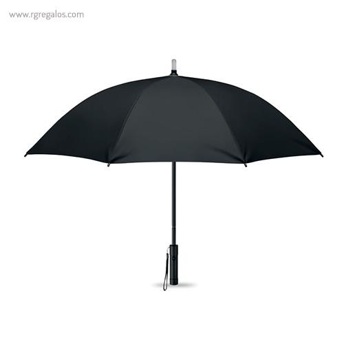 Paraguas manual con luz negro - RG regalos publicitarios