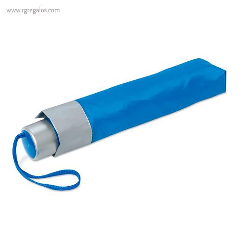 Paraguas plegable mini 21 azul 1 - RG regalos publicitarios