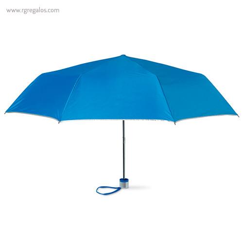 Paraguas plegable mini 21 azul - RG regalos publicitarios