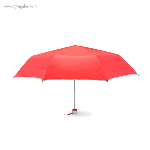 Paraguas plegable mini 21 rojo - RG regalos publicitarios