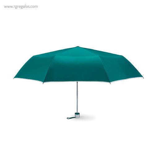Paraguas plegable mini 21 verde - RG regalos publicitarios