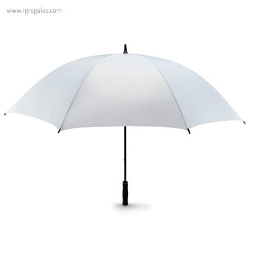 Paraguas publicitario grande 30 blanco - RG regalos publicitarios