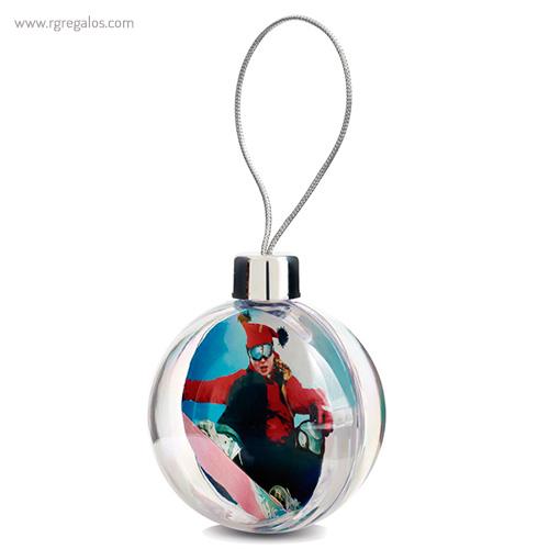 Bola de navidad personalizable 1 - RG regalos publicitarios
