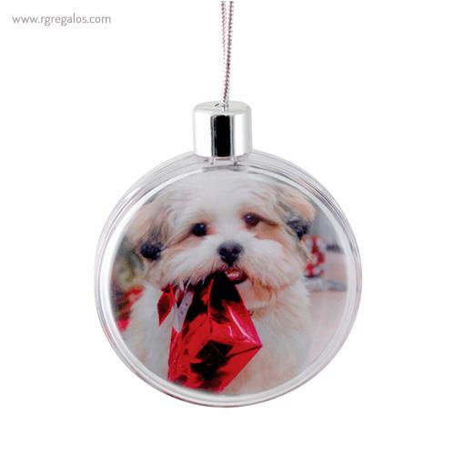 Bola de navidad personalizable 3 - RG regalos publicitarios