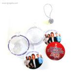 Bola de navidad personalizable 4 - RG regalos publicitarios