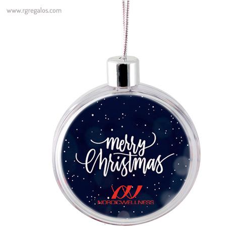 Bola de navidad personalizable 6 - RG regalos publicitarios