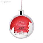 Bola de navidad personalizable 2 - RG regalos publicitarios