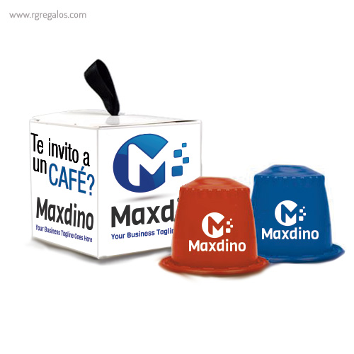 Cápsulas café personalizadas 1 - RG regalos publicitarios