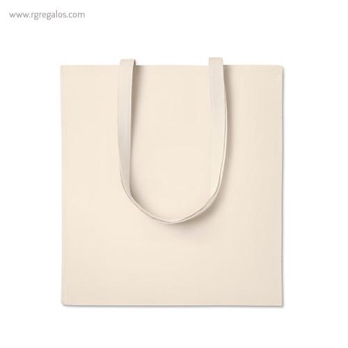 Bolsa 100% algodón con fuelle 1 - RG regalos publicitarios